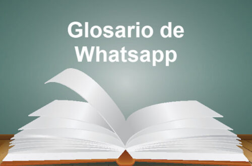 glosario whatsapp